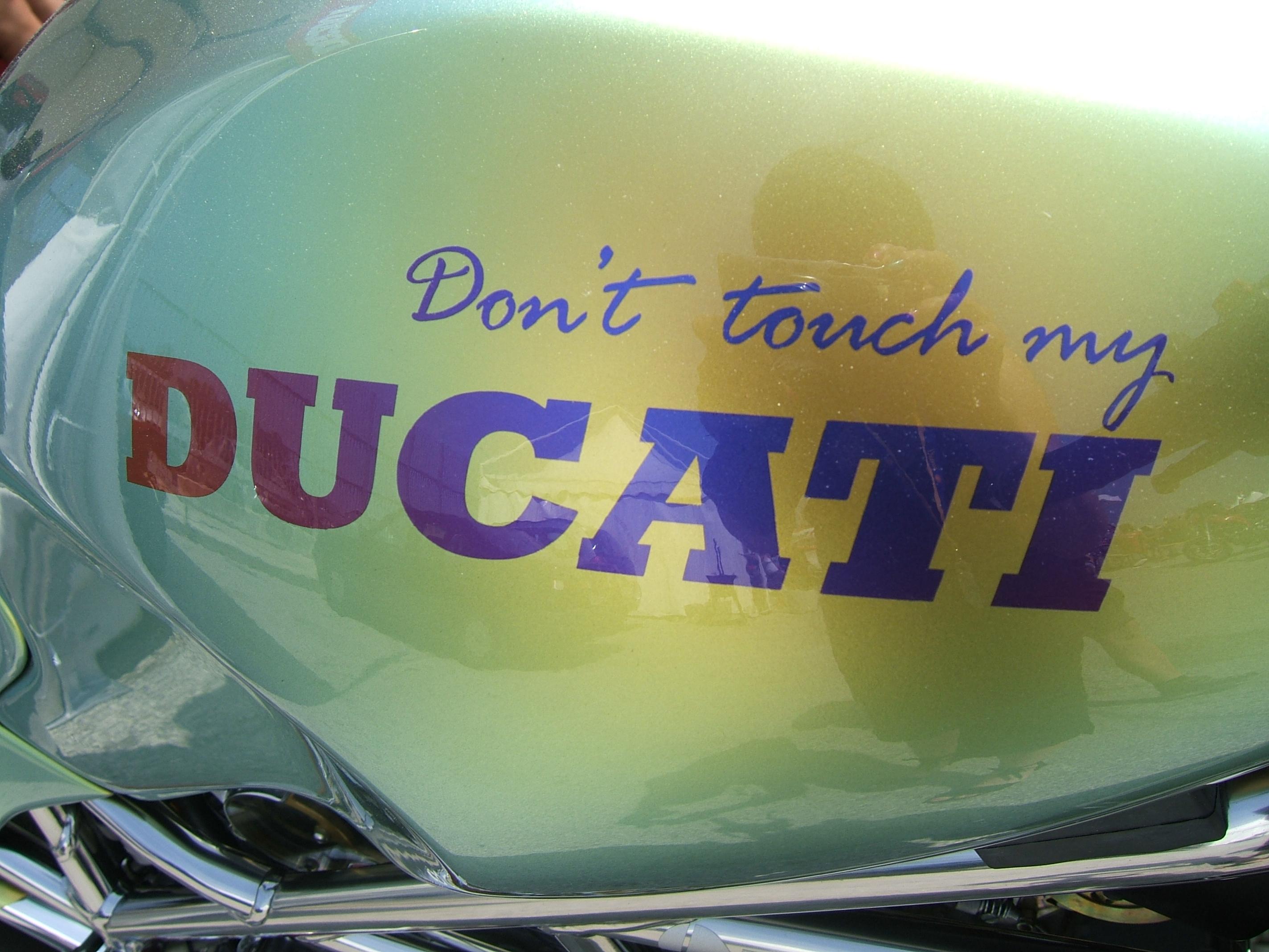 Donta Tucha ma Ducati