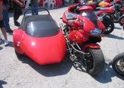 Wallace & Gromits new sidecar outfit