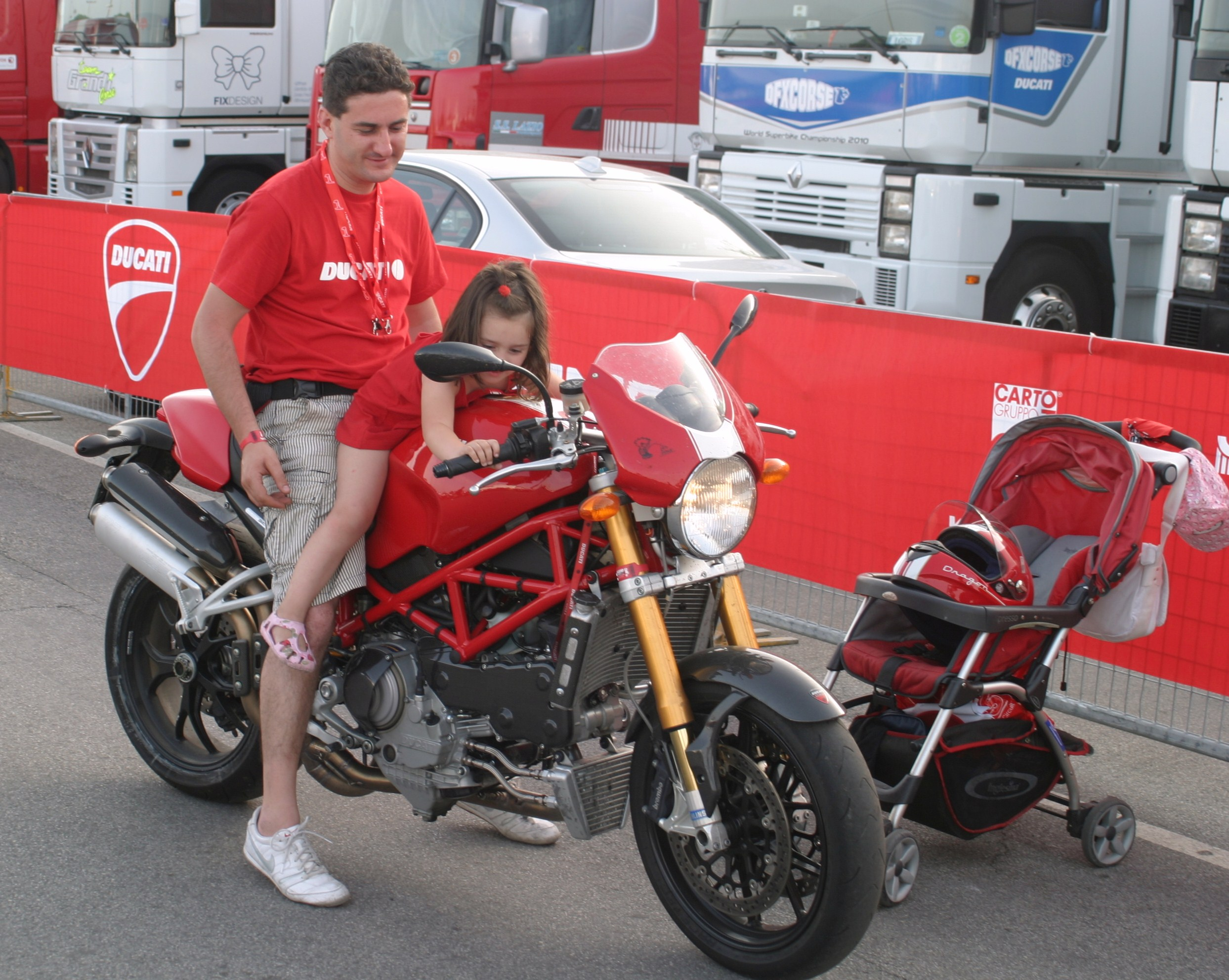 Ducati indoctrination starts at an early age in Italy